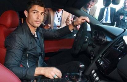 Ronaldo i sitt nya vrålåk